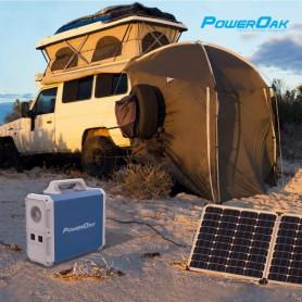 PowerOak - PowerOak PS8 1.500Wh solar AC/DC generator - Powerbanks - PON-PS8