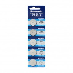 Panasonic - Panasonic Lithium CR2012 3V 55 mAh battery (Blister of 5 pieces) - Button cells - BS449