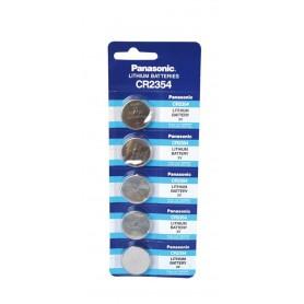 Panasonic, Panasonic Lithium CR2354 3V 530mAh battery (Blister of 5 pieces), Button cells, BS450