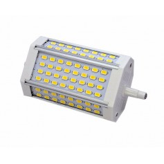 R7S 118mm 30W 64x SMD 5730 LED Lamp Warm white - Dimmable
