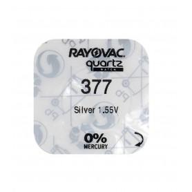Rayovac - Rayovac 377/SR 626 SW/376/G4 Silver Oxide battery - Button cells - BL325-CB