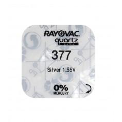 Rayovac 377/SR 626 SW/376/G4 Silver Oxide battery