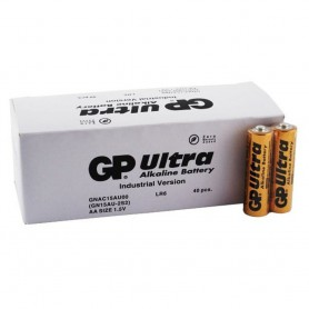 GP - Industrial GP Ultra Alkaline Battery LR6 AA - 40 pieces - Size AA - BL188