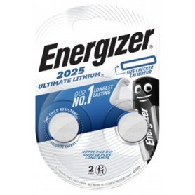 Energizer - Energizer CR2025 (2-Pack) 170mAh 3V lithium button cell battery - Button cells - BL275-CB