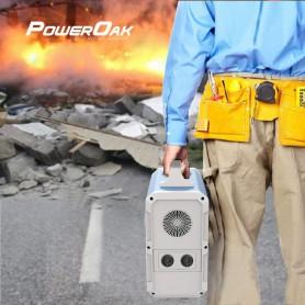 PowerOak, PowerOak PS9 1.800Wh solar AC/DC generator, Powerbanks, PON-PS9