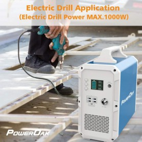 PowerOak, PowerOak PS10 2.400Wh solar AC/DC generator, Powerbanks, PON-PS10
