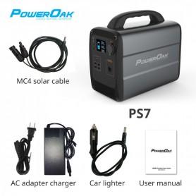 PowerOak - PowerOak PS7 1.000Wh solar AC/DC generator - Powerbanks - PON-PS7