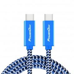 PowerOak - PowerOak C1 USB-C 3.1 gen2 10Gbps cable - USB to USB C cables - PON-C1