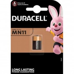 Duracell Security A11 MN11 11A 6V alkaline battery