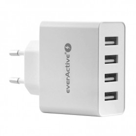 EverActive - EverActive 4xUSB 5V / 2.4A (5A max) AC charger - Ac charger - BL329