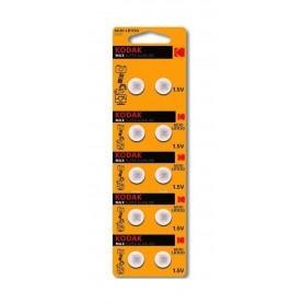 Kodak, Kodak Max G10 / LR54 / 189 / AG10 button cell battery - 10 Pieces, Button cells, BS381-CB
