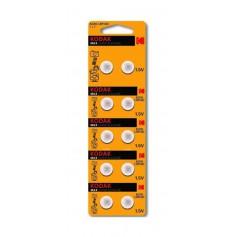Kodak Max G10 / LR54 / 189 / AG10 button cell battery - 10 Pieces