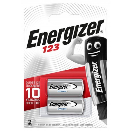 Energizer - Energizer CR123 3V lithium battery - Duo Pack - Other formats - BL113-CB