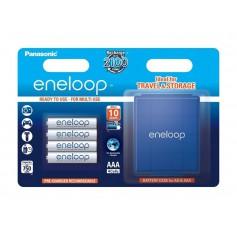 Eneloop - AAA R3 Panasonic Eneloop Rechargeable Batteries + Free storage box - Size AAA - BL336