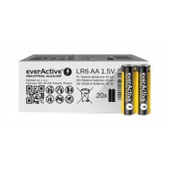 EverActive - 40x everActive Industrial LR6/AA Alkaline 1.5V 2700mAh - Size AA - BL340