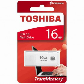 Toshiba - 16GB Toshiba U301 16GB USB 3.0 Pendrive Memory Stick Flash Disk Drive - SD and USB Memory - BL343
