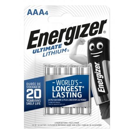 Energizer, AA LR6 Energizer Ultimate Lithium 3000mAh 1.5V, Size AA, NK428-CB
