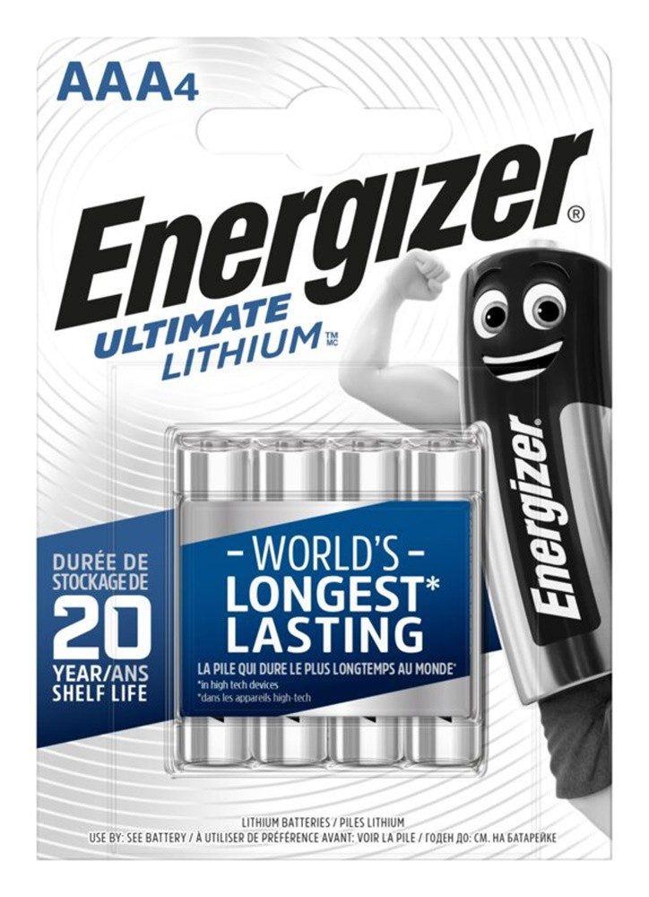 L91 Ultimate lithium Pile Energizer AA