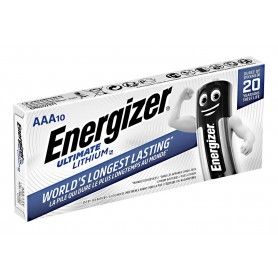 Energizer - AAA L92 Energizer Ultimate Lithium 1250mAh 1.5V - Size AAA - NK427-CB