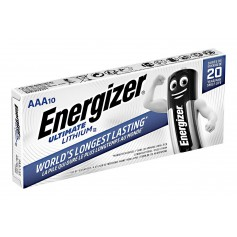 AAA L92 Energizer Ultimate Lithium 1250mAh 1.5V