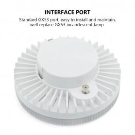 NedRo - GX53 12W Warm White LED 45 LED 840Lm 85~265V - GX53 LED - AL227-12W-WW
