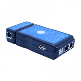 NedRo - Cable tester LAN USB RJ45 RJ11/RJ12 Network ethernet CAT5 UTP M726AT - Network Tools - YNK001-1