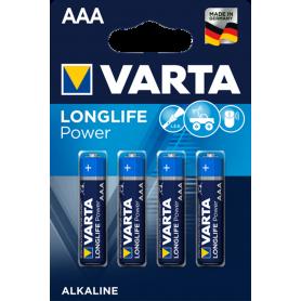 Varta, VARTA Longlife Power LR03 / AAA / R03 / MN 2400 1.5V alkaline battery, Size AAA, BS136-CB