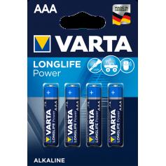 VARTA Longlife Power LR03 / AAA / R03 / MN 2400 1.5V alkaline battery
