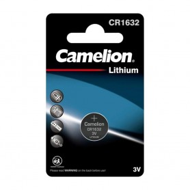 Camelion, Camelion CR1632 125mAh 3V Lithium battery, Button cells, BS229-CB