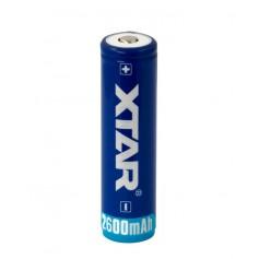 Xtar 2600mAh 3.7V 18650 PCB PROTECTED battery