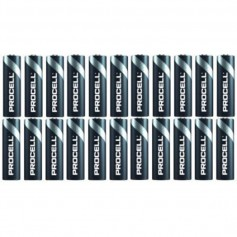 Duracell, 24x Pack PROCELL (Duracell Industrial) LR6 AA 1.5V alkaline battery, Size AA, BS465