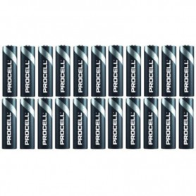 Duracell, 24-Pack PROCELL AAA LR03 (Duracell Industrial) alkaline battery, Size AAA, BS466