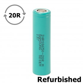 Samsung - Samsung INR18650-20R 22A 2000mAh -Refurbished - 18650 Refurbished - NK483