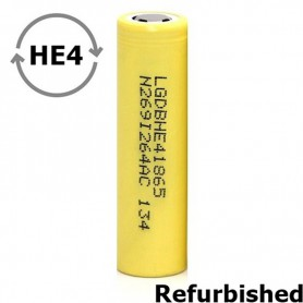 LG - LG 18650 LG ICR18650-HE4 20A 2500mAh - Refurbished - 18650 Refurbished - NK484
