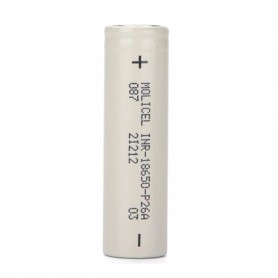 Molicel - Molicel INR18650-P26A 2600mAh - 35A - Size 18650 - NK488