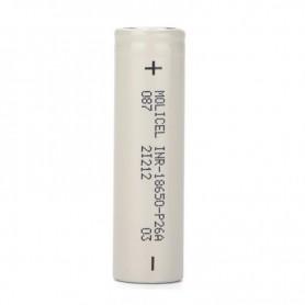 Molicel - Molicel INR18650-P26A 2600mAh - 35A - Size 18650 - NK488
