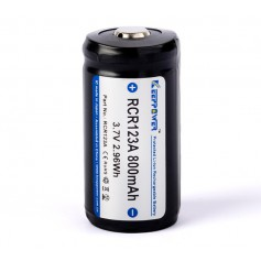 KeepPower - Keeppower RCR123A 800mAh (protected) - 2A - Other formats - NK489