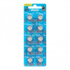 Vinnic - Vinnic G13 / AG13 / L1154 / LR44 / 157 / A76 1.5V button cell battery - Button cells - NK399-CB