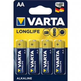 Varta - Varta Longlife Alkaline AA/LR6 1.5V - Size AA - BS468