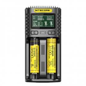 NITECORE - Nitecore UM2 USB battery charger - Battery chargers - NK493