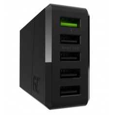 52W  5xUSB ChargeSource 5 Ultra Charge and Smart Charge