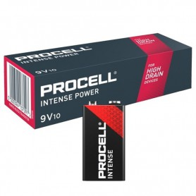 Duracell - 10x PROCELL Intense Power 9V (Duracell Industrial) Alkaline E-Block / 6LP3146 - Other formats - BS472