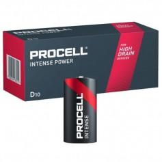 10x PROCELL INTENSE POWER  (Duracell Industrial) LR20 D Alkaline battery