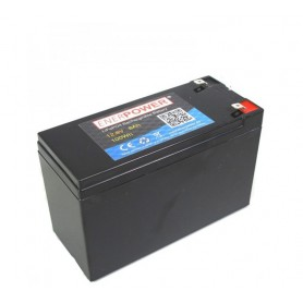 Enerpower - Enerpower 12.8V 8Ah - LiFePo4 6.3mm - LiFePO4 battery - NK499