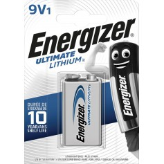 Energizer 9V Lithium Battery - blister