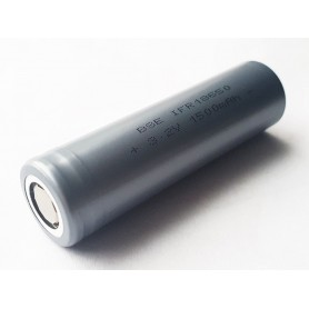 BSE - BSE IFR18650 LiFePo4 1500mAh 3.2V - Size 18650 - BS478