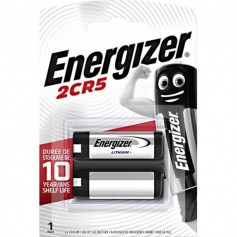 Energizer 2CR5 / DL245 / EL2CR5 6V Lithium Battery