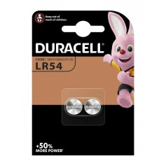 Duracell - Duracell G10 / LR54 / 189 / AG10 button cell battery (Duo Blister) - Button cells - NK264-CB