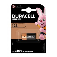 Duracell CR123 CR123A Lithium Blister Pack