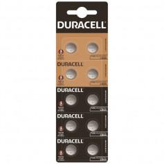 10x Duracell G13 / AG13 / L1154 / LR44 / 157 / A76 1.5V button cell battery